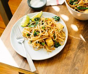 food, lunch, and tofu image