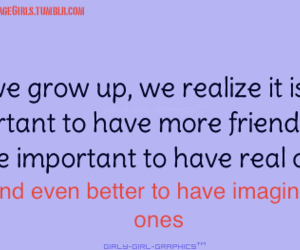 funny, true, and imaginary friends image