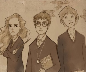 harry potter, hermione granger, and hogwarts image