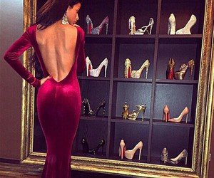 dress, shoes, and luxury image