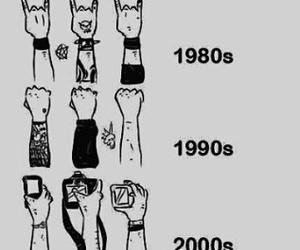 rock, concert, and evolution image