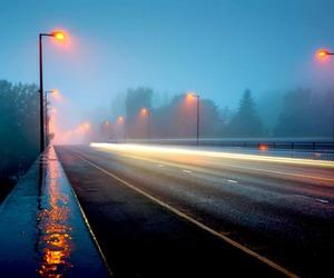 light, night, and rain image