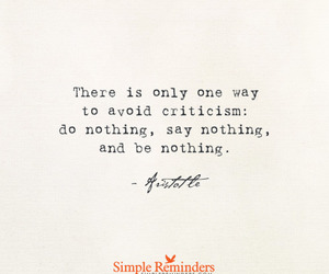quotes, aristotle, and nothing image