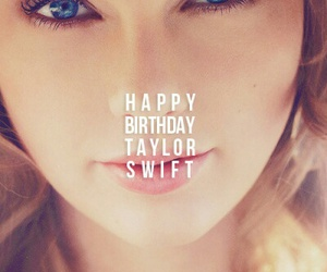 Taylor Swift, birthday, and happy birthday image
