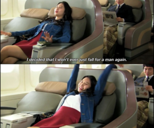 airplane, drama, and quote image