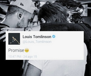 one direction, louis, and promise image