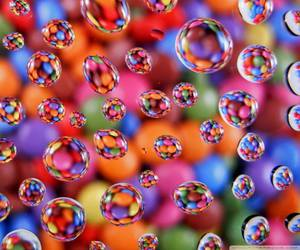 bubble, colors, and wallpapers image