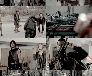crossbow, the walking dead, and twd image