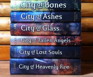 book, the mortal instruments, and shadowhunters image