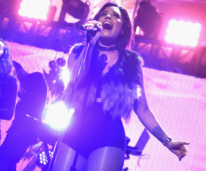 demi, new york, and stage image