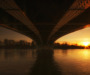 amazing, bridge, and column image