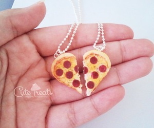 heart, things, and pizza image