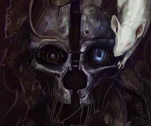 mask, dishonored, and corvo attano image