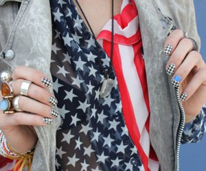 fashion, usa, and nails image