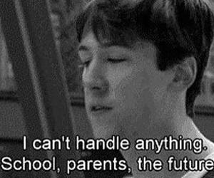 school, future, and quotes image
