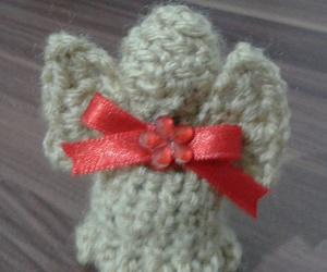angel, crochet, and christmas image