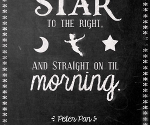 peter pan and second star to the right image