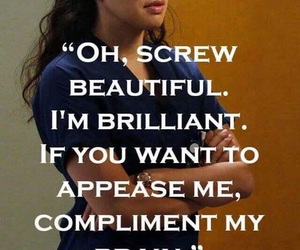 grey's anatomy, beautiful, and quote image