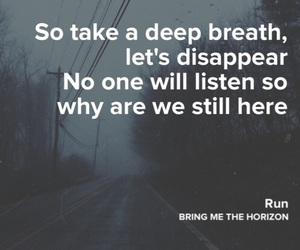breath, deep, and disappear image