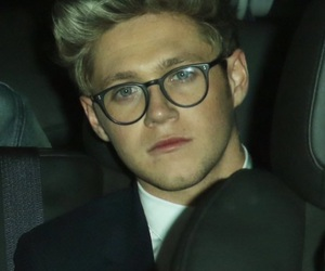 glasses, gorgeous, and niall horan image