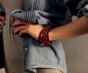 accessories, denim, and girl image
