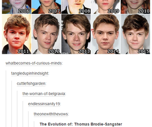 tumblr, thomas brodie-sangster, and newt image
