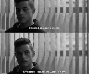 quotes, mr robot, and movie image