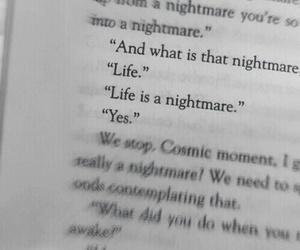 life, sad, and book image