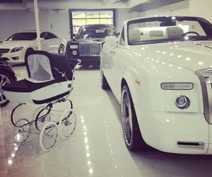 car, luxury, and baby image