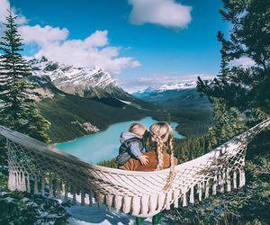braid, baby, and hammock image