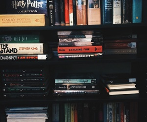 books, classics, and harry potter image