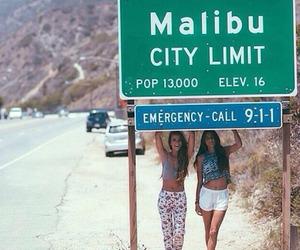 malibu, girl, and summer image