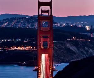 bridge, city, and landscapes image