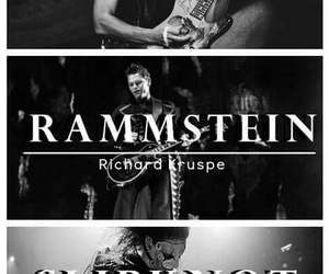 metallica, rammstein, and slipknot image
