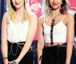 little mix, perrie edwards, and jade thirlwall image