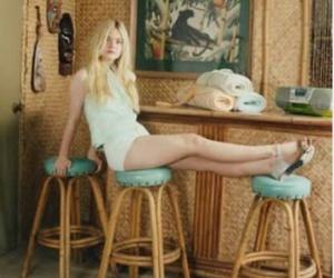 1975, aurora, and Elle Fanning image