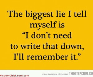 funny, lies, and quotes image