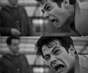 stiles, funny, and teen wolf image