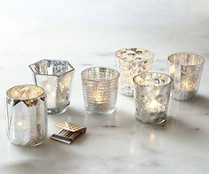 candle and silver image