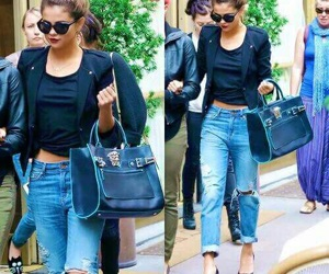 selena gomez, fashion, and style image