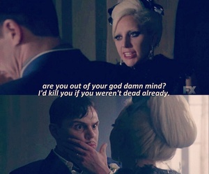 hotel, Lady gaga, and tate langdon image