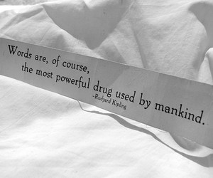 quote, words, and drugs image