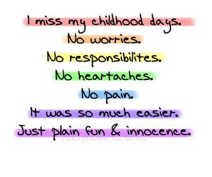 childhood and memories image