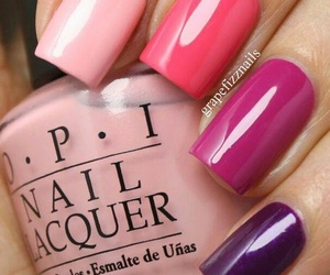 girly, purple, and nails image