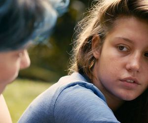 adele exarchopoulos, Lea Seydoux, and blue is the warmest color image