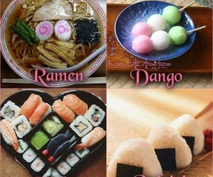 food, onigiri, and ramen image