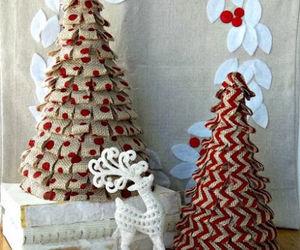 burlap, diy, and christmas image