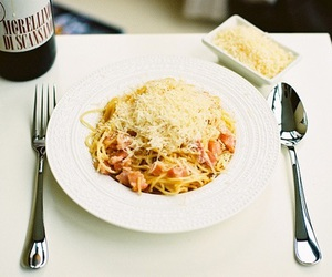 food, pasta, and cheese image