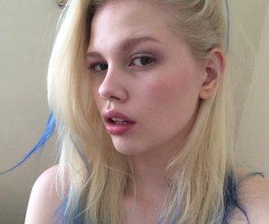 girl, model, and random image