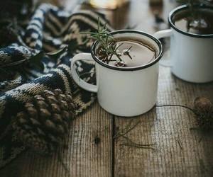 winter, tea, and christmas image